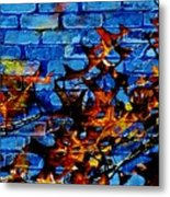Pin Oak Leaves Metal Print