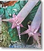 Pink Ribbon Altar Metal Print