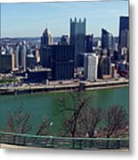Pittsburgh Panorama Metal Print