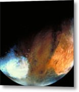 Planet Mars Metal Print