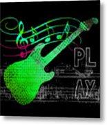 Play 3 Metal Print