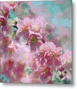 Plum Blossom - Bring On Spring Series Metal Print