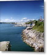 Plymouth Foreshore Metal Print