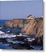 Point Arena Lighthouse Metal Print