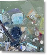 Polluted Dirty Water Metal Print