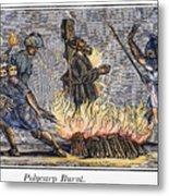Polycarp Of Smyrna Metal Print