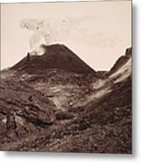 Pompeii, Mt Vesuvius Metal Print