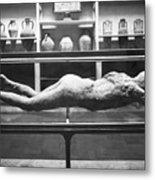 Pompeii: Plaster Cast Metal Print