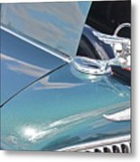 1933 Pontiac Eight Hood Ornament Metal Print