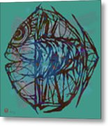 Pop Art - New Tropical Fish Poster Metal Print
