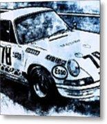 Porsche Carrera Rsr, 1973 - 03 Metal Print