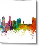 Port Elizabeth South Africa Skyline Metal Print