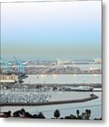 Port Of Los Angeles 0570 Metal Print
