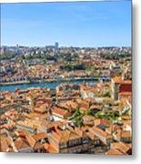 Porto Skyline Portugal Metal Print