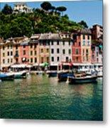 Portofino Italy Metal Print