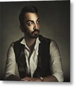 Portrait Of A Young Man Metal Print