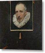 Portrait Of Cornelis Van Der Geest Metal Print