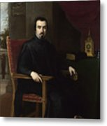 Portrait Of Don Justino De Neve Metal Print