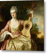 Portrait Of Maria Walpole Metal Print