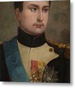 Portrait Of Napoleon Buonaparte Metal Print