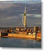 Portsmouth Harbour England  Metal Print