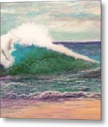 Powerful Sea Metal Print