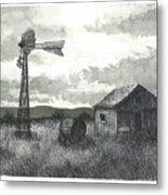 Prairie Farm Metal Print by Jonathan Baldock