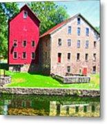 Prallsville Mill Metal Print