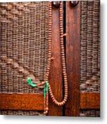Prayer Beads Metal Print by Tom Gowanlock