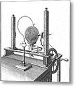 Priestleys Electrostatic Machine, 1775 Metal Print