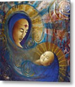 Primordial Mother Gives Birth To Solar Father Metal Print