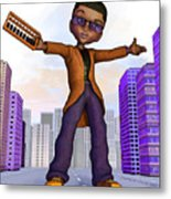 Prince Of The City Metal Print