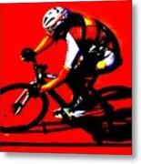 Pro Cycling Metal Print