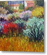 Provence In Bloom Metal Print