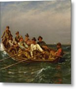Pull For The Shore Metal Print