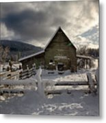 Purcell Barn Metal Print