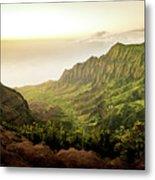 Puu O Kila Lookout, Kauai, Hi Metal Print