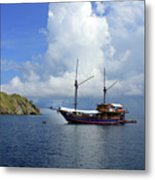 Silent Diving Bay On The Coast Of Sulawesi Metal Print