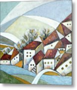 Quiet Village Metal Print