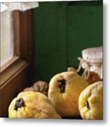 Quince And Honey Metal Print