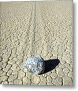 Racetrack In Death Valley Metal Print