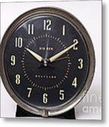 Radium Dial On Clock Metal Print