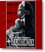 Rainbow Six Metal Print
