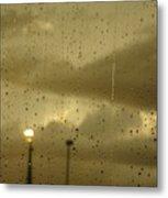 Rainy Days And Mondays Metal Print