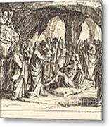 Raising Of Lazarus Metal Print
