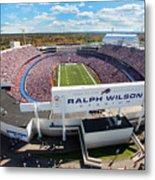 Ralph Wilson Stadium Metal Print