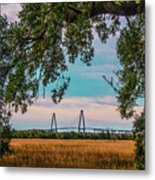 Ravenel Bridges Metal Print