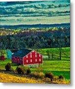 Red Barn - Pennsylvania Metal Print