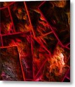 Red Chocolate Metal Print