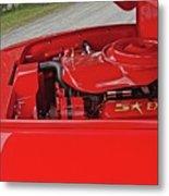 Red Engine Metal Print